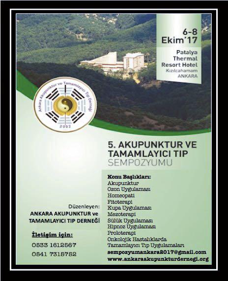 5. Akupunktur ve Tamamlayıcı Tıp Sempozyumu Düzenlendi