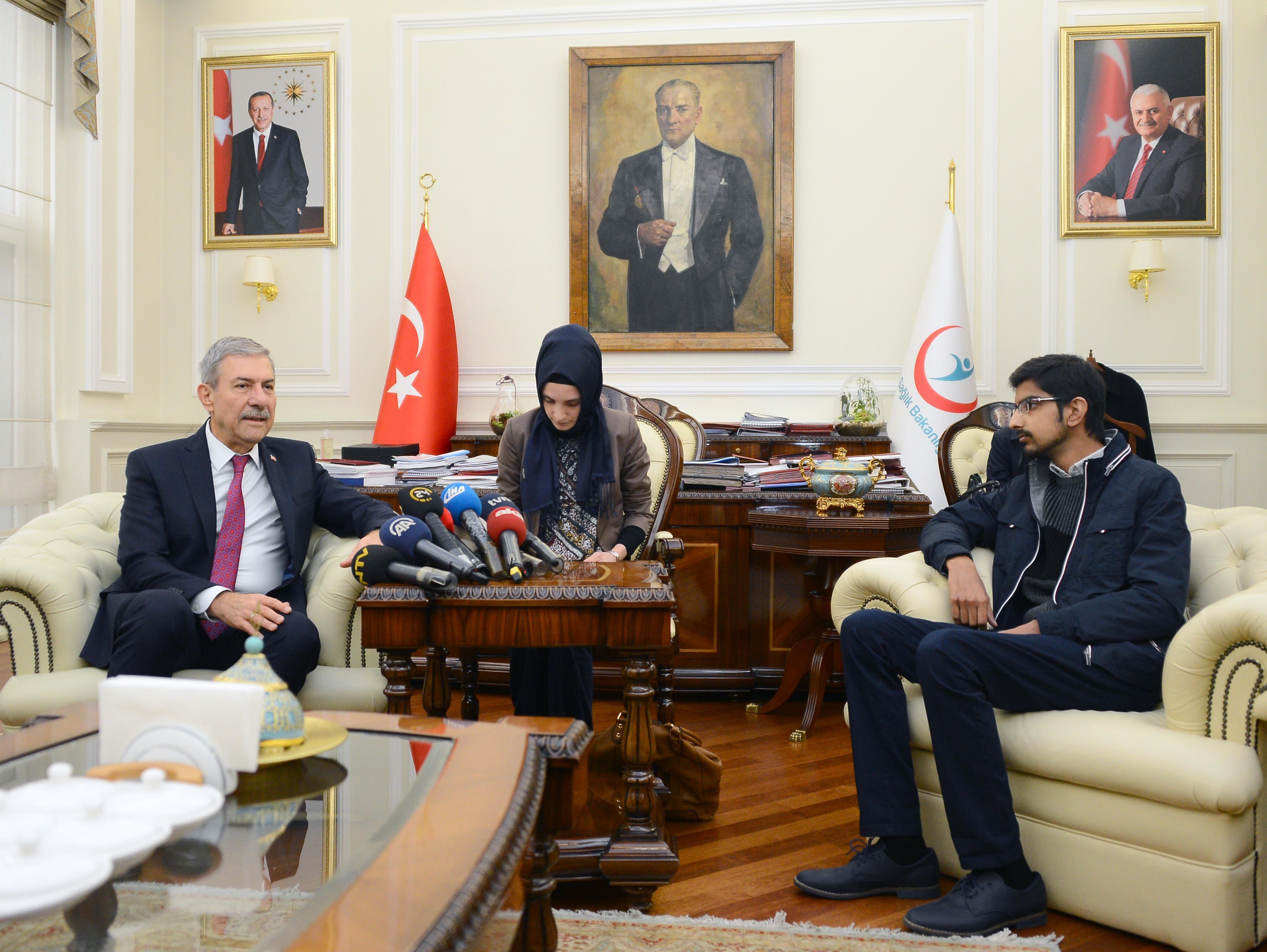 """Sağlık Bakanı Demircan: """"Sağlıktaki tecrübelerimizi Pakistanlı kardeşlerimizle paylaşmaya gayret ediyoruz"""""""