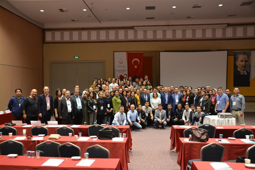 Kurumsal Sağlık Hizmet Göstergesi Bilgilendirme ve Eğitim Çalıştayı (14-16 Kasım 2016)