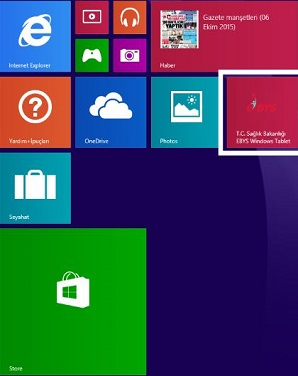 EBYS Windows İşletim Sistemi