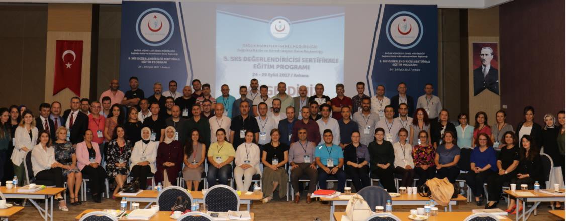 5. SKS Değerlendiricisi Sertifikalı Eğitim Programı Ankara'da Gerçekleştirildi!
