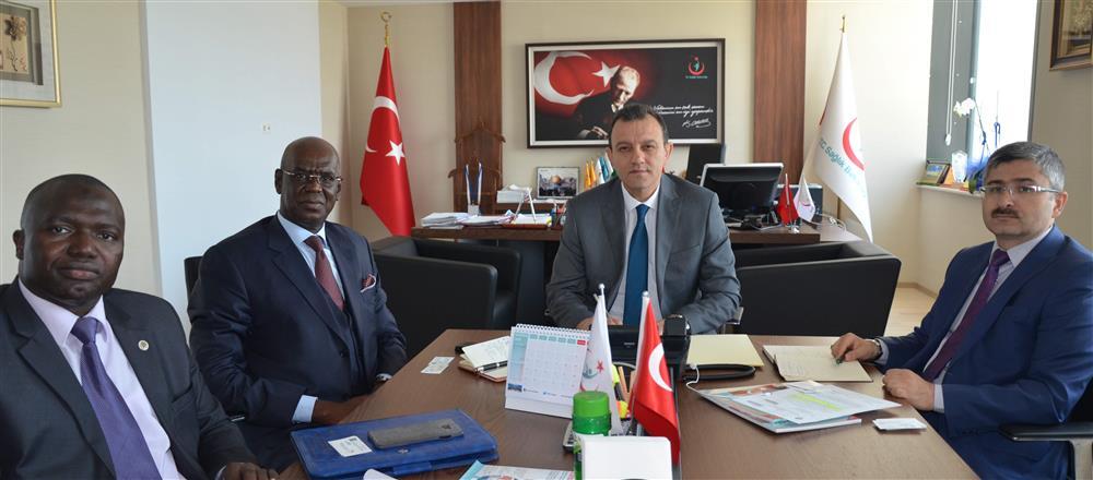 Senegal Büyükelçiği Elçi-Müsteşarının Genel Müdürlüğümüzü Ziyareti