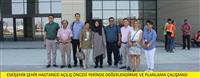 Eskişehir Şehir Hastanesi Açılış Öncesi Yerinde Değerlendirme ve Planlama Çalışmaları