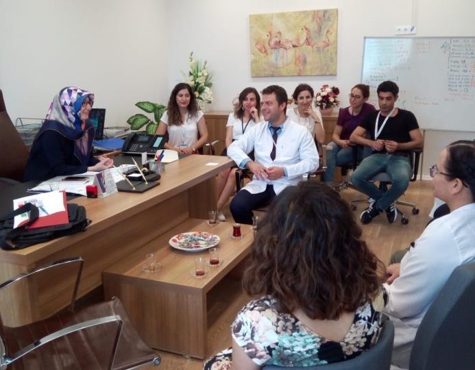 Mersin Şehir Hastanesi Hasta Hakları, Çalışan Hakları ve Güvenliği ve Tıbbi Sosyal Hizmet Birimleri Değerlendirmesi