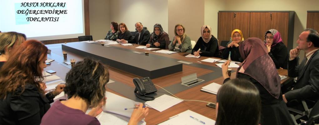 Hasta Hakları Değerlendirme Toplantısı