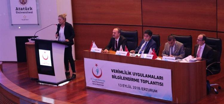 Erzurum, Ağrı, Ardahan, Erzincan, Iğdır ve Kars illeri  Acil Sağlık Hizmetleri ve Yurt Dışı Sağlık Birimleri  Dairesi Değerlendirme  Toplantısı