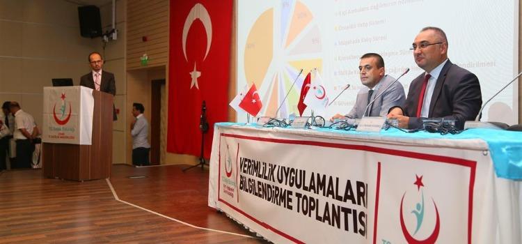 İzmir ,Manisa,Balıkesir  İlleri Acil Sağlık Hizmetleri Değerlendirme Toplantısı Gerçekleştirilmiştir