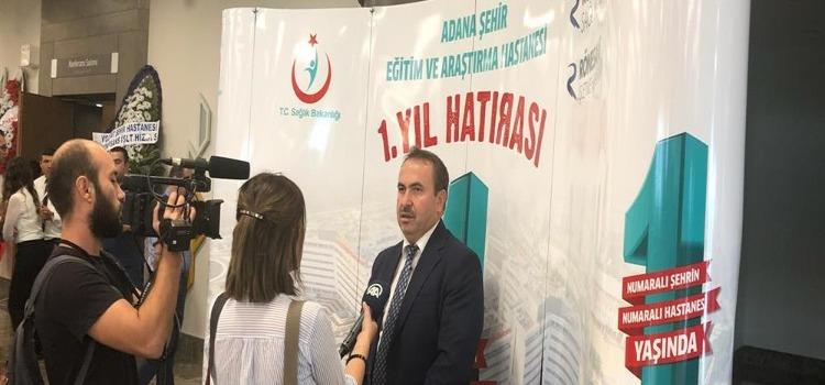 Adana Şehir Eğitim ve Araştırma Hastanesi Bir Yaşında