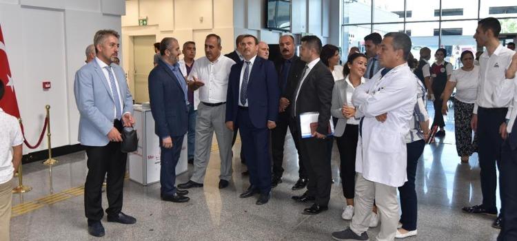 Mersin Şehir Eğitim ve Araştırma Hastanesi Genel Değerlendirme Toplantısı