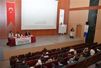 Bolu İlinde Sakarya, Zonguldak, Düzce, Karabük, Kastamonu ve Bartın İllerinin Katılımı İle Hasta Hakları, Tıbbi Sosyal Hizmetler ve Çalışan Hakları ve Güvenliği Birimleri Değerlendirme Toplantısı Gerçekleştirilmiştir