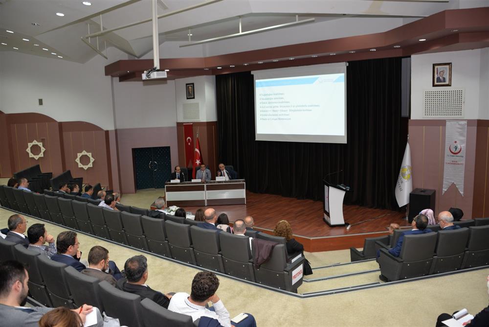 Konya,Aksaray,Antalya,Karaman İlleri Acil Sağlık Hizmetleri Verimlilik Analizleri  Bilgilendirme Toplantısı gerçekleştirilmiştir.