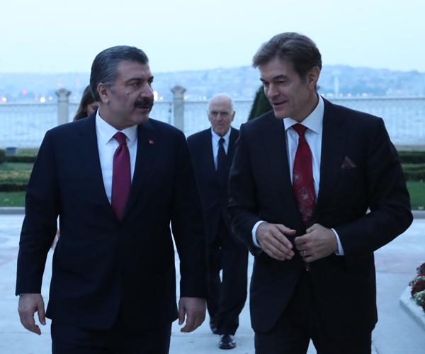 Sağlık Bakanı Fahrettin Koca, Mehmet Öz İle Bir Araya Geldi