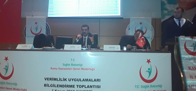 Kayseri İlinde İstatistik, Analiz ve MHRS Değerlendirme Toplantısı Gerçekleşti