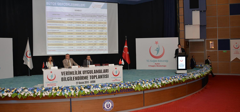 Aydın İli 2018 Yılı Mali Durum Değerlendirme Toplantısı