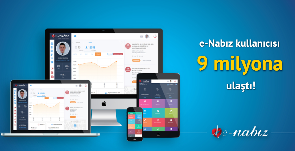 E-Nabız Kullanıcısı 9 Milyona Ulaştı