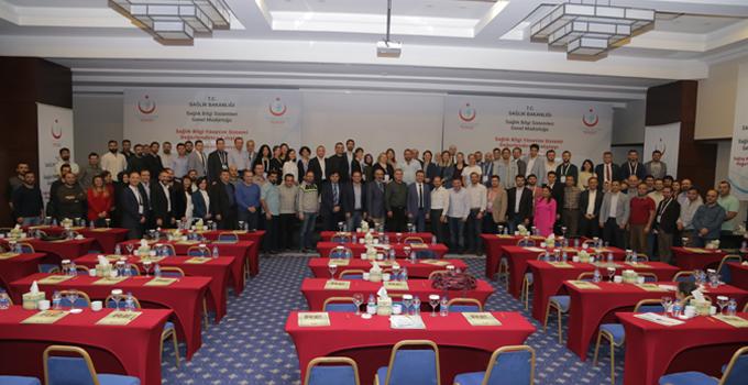 2018 Yılı Sağlık Bilgi Yönetim Sistemi (SBYS) Değerlendirme Çalıştayı 20-24 Kasım Tarihleri Arasında Antalya'da Yapıldı