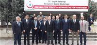Genel Müdürümüz Prof.Dr. Rahmi Kılıç'ın Nevşehir ve Aksaray İl Sağlık Müdürlüğü Ziyareti