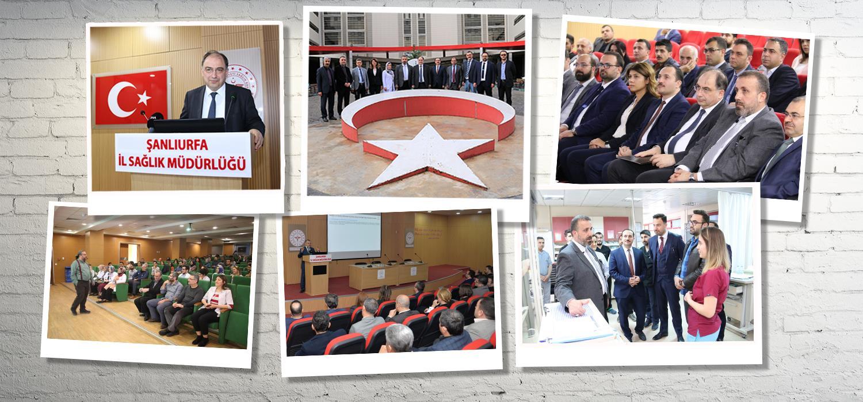 İletişim ve Tanıtım Birimleri Bölgesel Değerlendirme Toplantısı Şanlıurfa' da yapıldı