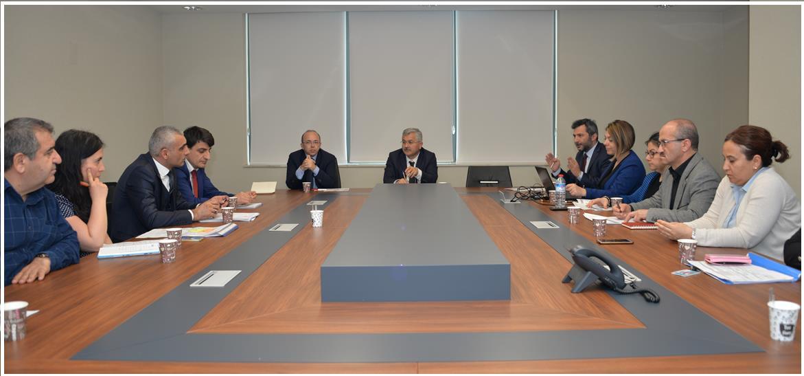 Bursa Dr. Ayten Bozkaya Spastik Çocuklar Hastanesi ve Rehabilitasyon Merkezi ihtiyaç program toplantısı