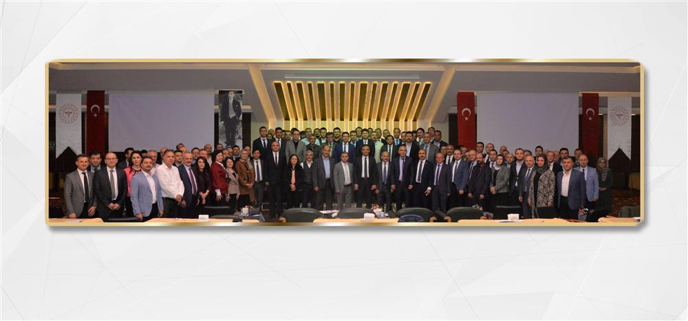 TGAP Ofisi Bölgesel Bilgilendirme Toplantılarının ilkini Konya'da gerçekleştirdi