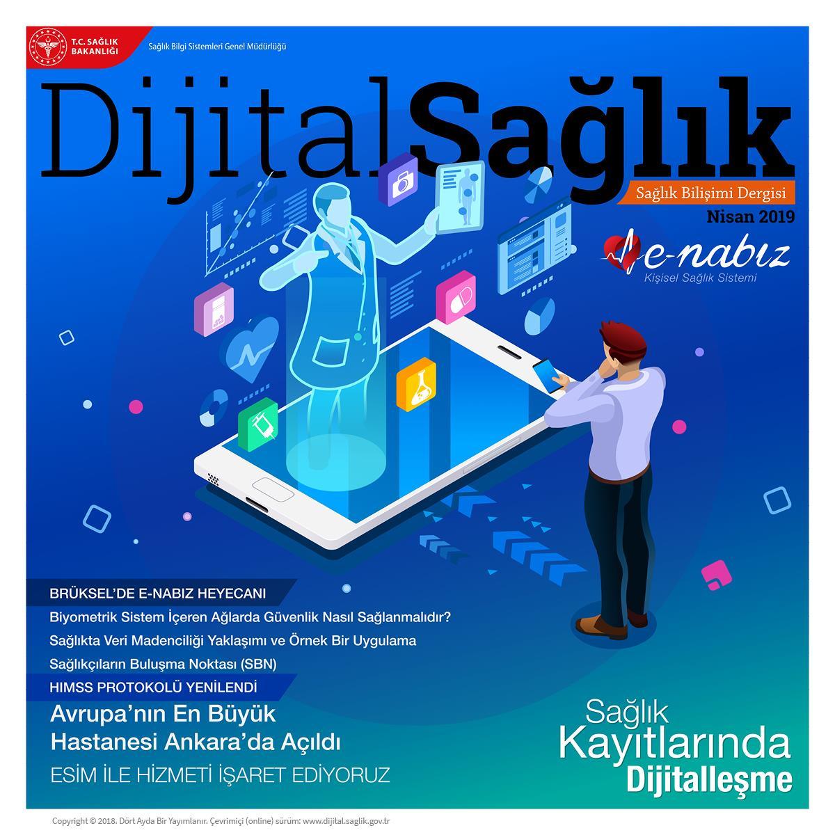 Dijital Sağlık Dergisi 3.Sayı