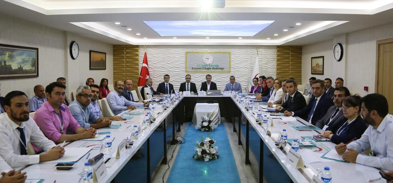 Erzurum İl Değerlendirme Toplantısı Yapıldı