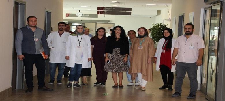 Cep Depo Değerlendirmelerinde İyi Uygulamalarda Bulunan Sağlık Tesisine Ziyaret Gerçekleştirildi