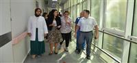 Malatya Eğitim ve Araştırma Hastanesinin Cep Depolarının İşleyişi Konusunda Yerinde İncelemelerde Bulunuldu
