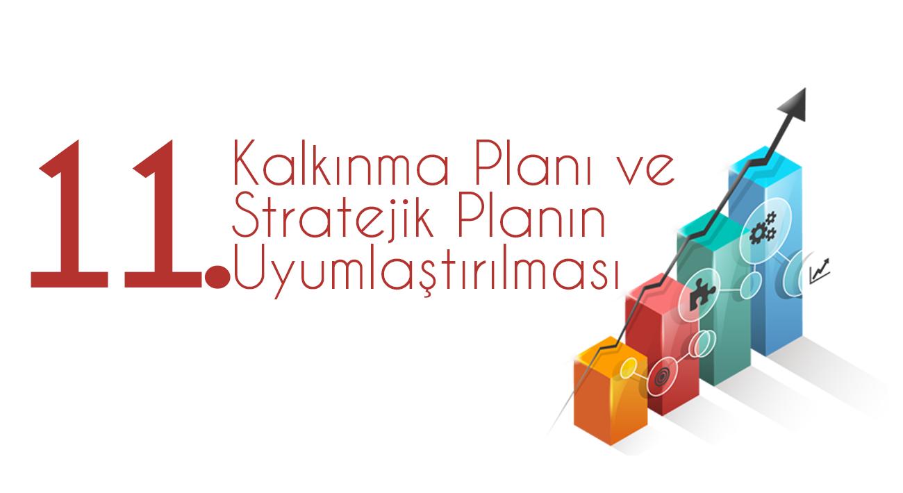 11.Kalkınma Planı ve Stratejik Planın Uyumlaştırılması Toplantısı