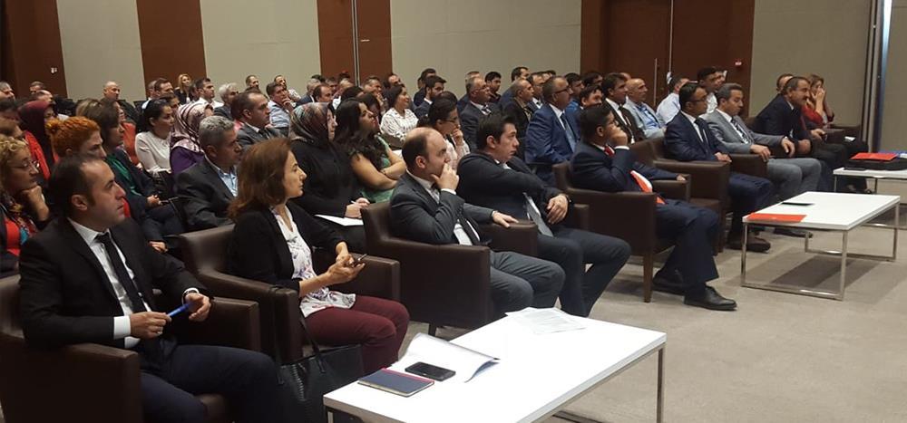 81 İl Sağlık Müdürlüğü Muhasebe Yetkilileri Bilgilendirme ve Değerlendirme Toplantısı