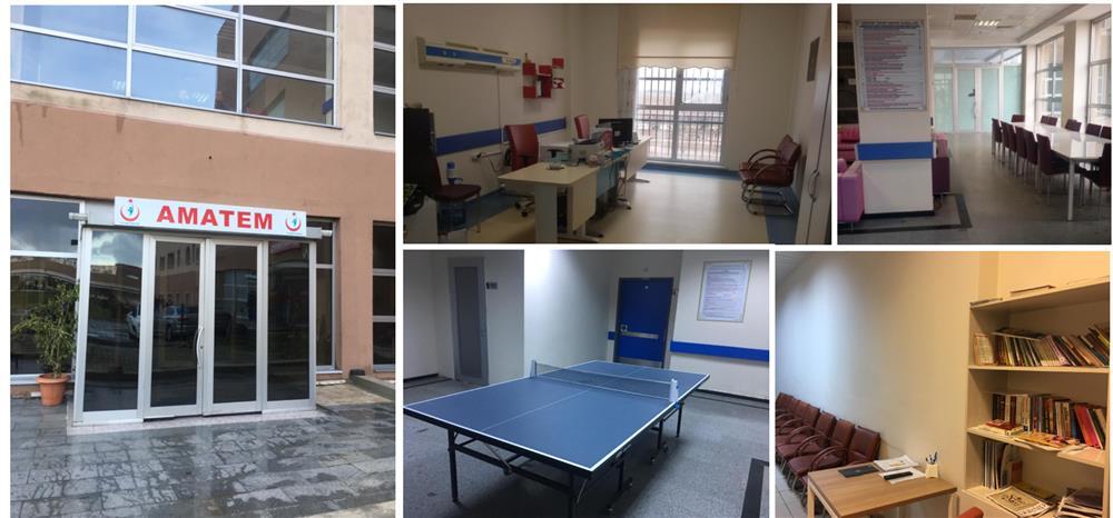"""Tekirdağ Çorlu Devlet Hastanesine Bağlı Yataklı """"Kapalı Arındırma Merkezi (AMATEM)"""" Açıldı"""