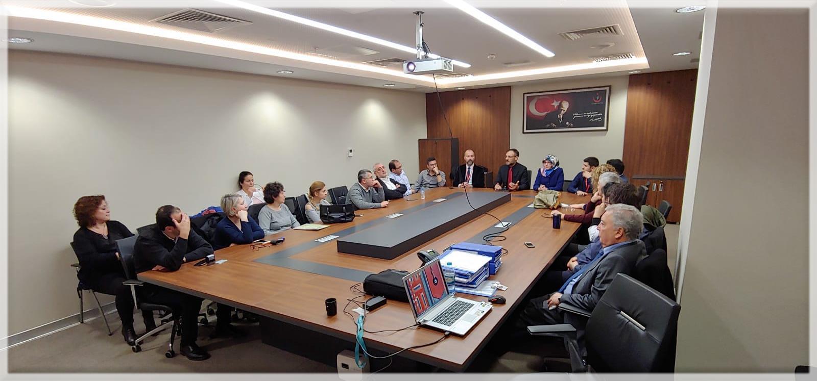 Nöbet Muafiyet Raporları Değerlendirme Komisyonu Toplantısı (8-10 Ocak 2019)