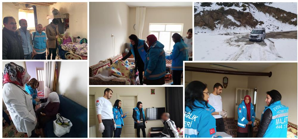 Elazığ Sivrice Bölgesi Merkez Üssü Olan  Deprem Sonrası Sunulan Evde Sağlık Hizmetleri