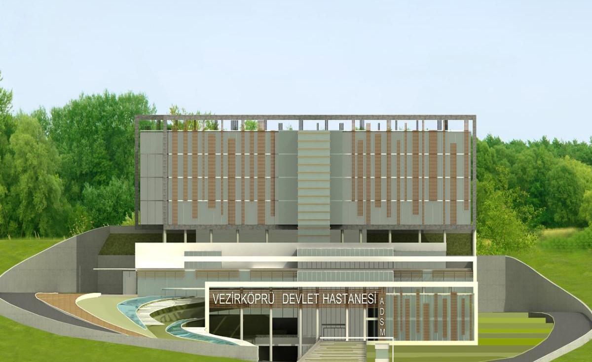 Samsun Vezirköprü Devlet Hastanesi Yıl Sonuna Kadar Tamamlanacak