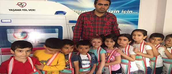 """""""YALANCI ÇOBAN VE BİR BİR İKİ'' YAHYA KEMAL BEYATLI OKULUNDA SAHNE ALDI"""